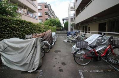 ルミネ尾山台の駐輪場です。