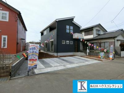 【外観】牛久市さくら台5期 新築戸建 1号棟