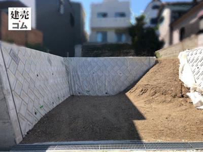 神戸市長田区上池田3丁目2期 新築一戸建て 2021/8/27現地撮影