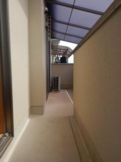 【バルコニー】三鷹市中原4丁目 中古一戸建て 京王線 つつじヶ丘駅