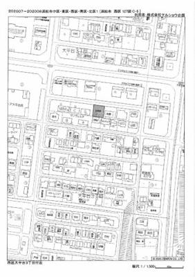 【地図】大平台3丁目113-17⑮