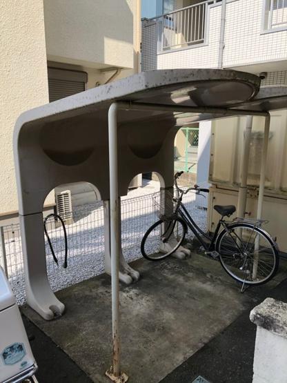 【駐輪場】カーサ3ブリッジ