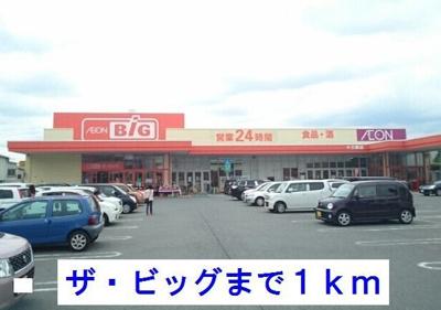 ザ・ビッグ十三郎店まで1000m