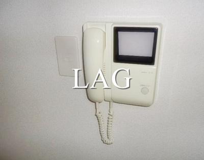 モニター付きインターフォンになります。