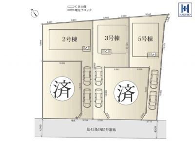 【外観】三ツ境駅徒歩12分!10月建物完成予定!3LDK+カースペース2台可!瀬谷区二ツ橋町新築戸建