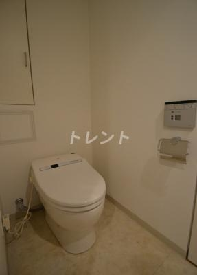 【トイレ】ブリリアイスト代々木上原【Brillia ist 代々木上原】
