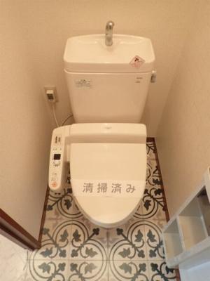 人気のシャワートイレ・バストイレ別♪シャワートイレはあると嬉しいですね◎
