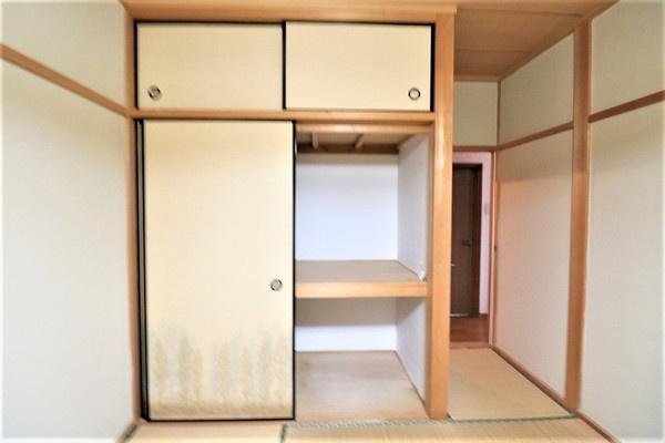 【収納】 2階6.5畳和室の収納です♪
