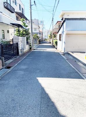【前面道路含む現地写真】岸和田市春木旭町 売土地