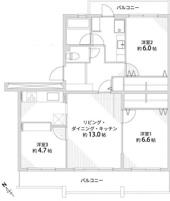 高槻阿武山二番街203号棟の画像