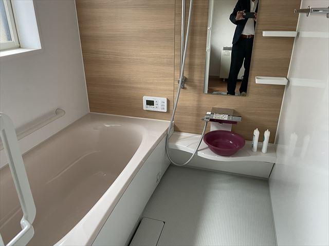 【浴室】伊那市高遠町長藤 中古住宅