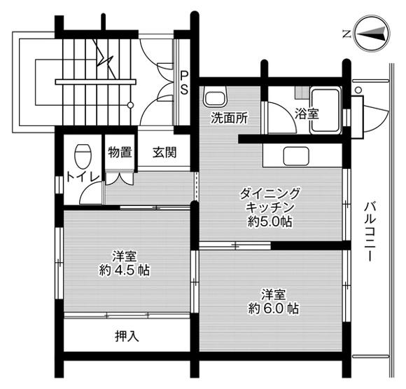 ビレッジハウス伊万里2号棟