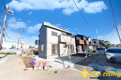 【外観】立川市西砂町5丁目 新築戸建 全3棟 1号棟