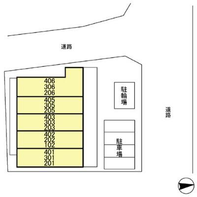 【区画図】ソレアード中青木