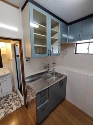 【キッチン】加納8丁目貸家