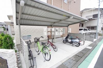 敷地内駐輪場・バイク置き場