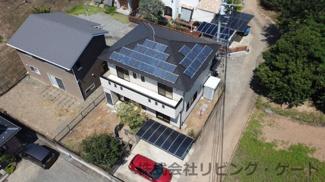 内装リフォーム済の綺麗な住宅。太陽光発電システム付き。