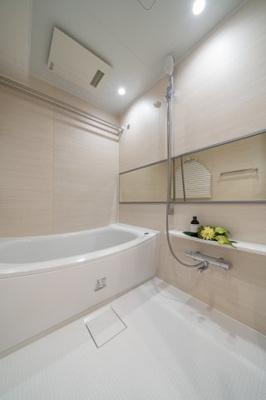 【浴室】ライオンズプラザ浅草第2 13階 角 部屋 リ ノベーション済