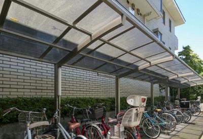 リドレス西荻窪の駐輪場です。