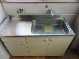 【キッチン】山形市芳野事務所・倉庫