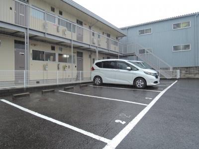 【駐車場】松村ハイツB棟