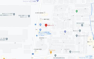 【地図】松村ハイツB棟