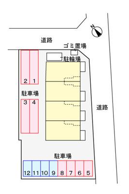 【区画図】Ruhe Z
