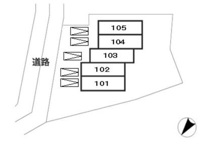 【区画図】ティムニーハウス