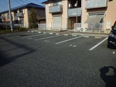 【駐車場】ドミ―ル旭B