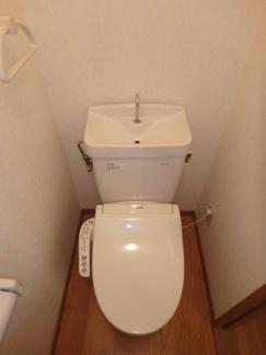 稲荷町 ガーディニアシティ稲荷町 1K トイレ