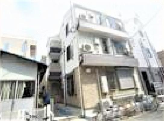 【外観】足立区江北7丁目の一棟売りアパート
