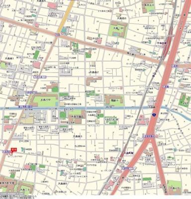 【地図】エスコート大森
