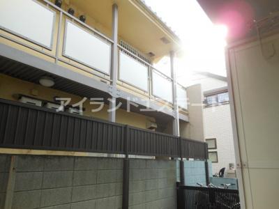【展望】ベルグラン上馬B棟 南向き 室内洗濯機置場 駐輪場
