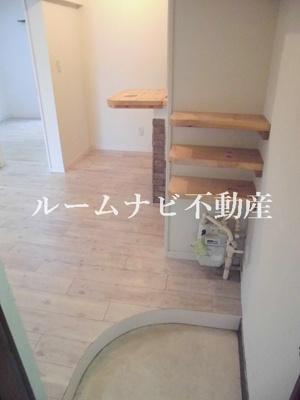 【玄関】目白ヶ丘コーポ