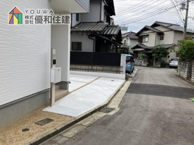 【前面道路含む現地写真】神戸市垂水区西脇2丁目 新築戸建
