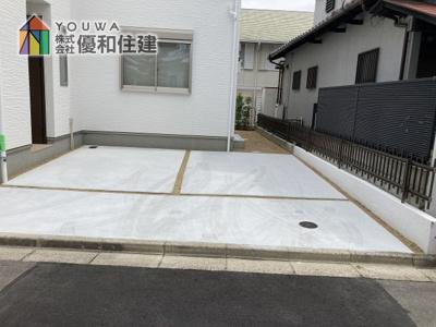 【駐車場】神戸市垂水区西脇2丁目 新築戸建