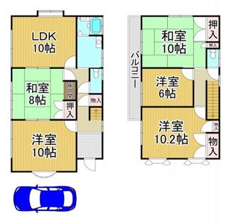 川西市清和台西4丁目4の34 中古一戸建て