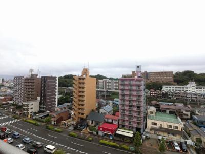 10階部分からの眺望です。