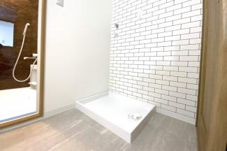 室内洗濯機置き場あり。防水洗濯パンも新規交換済みです。