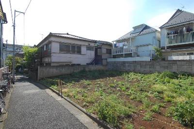 【外観】板橋区大山西町 建築条件なし売地 4980万円