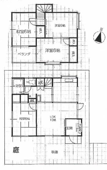 土地面積100平米、建物面積83.62平米~南東向きに付き日当たり良好、全居室6帖以上のゆったりとした4LDK
