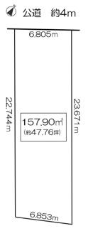3号地のこちらは土地価格2150万円