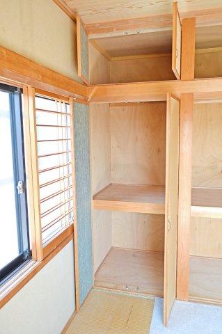 専用の収納スペースです 2階和室(6帖)押入収納