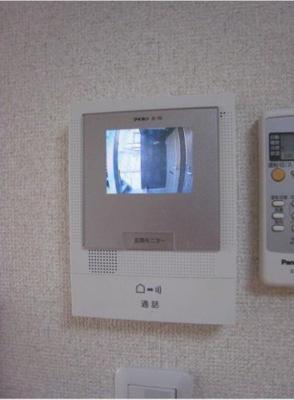 安心のTVモニター付インターフォン☆
