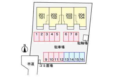 【駐車場】イースト330 Ⅱ