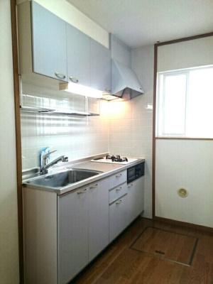 【キッチン】ニューハニーハイツ D