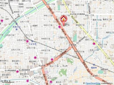 【地図】TREIZE REUNION