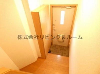 【玄関】レジデンスⅡ棟