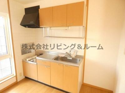 【キッチン】レジデンスⅡ棟