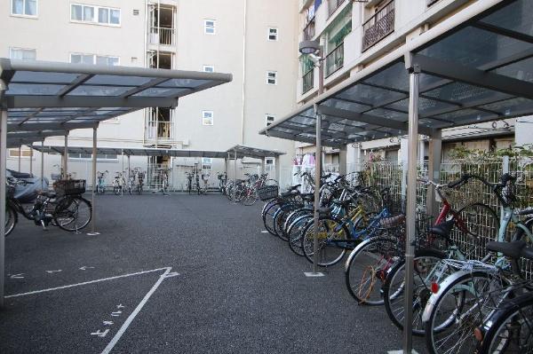 【駐輪場】日吉第5コーポ別館